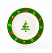 Skyros Designs Winter Angel Charger Plate