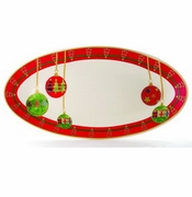 Skyros Designs Winter Angel Extra Large Oval Platter