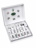 Portmeirion Botanic Garden Pastry Forks (Set of 6)