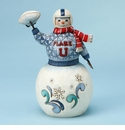 Enesco Jim Shore Football Snowman Figurine