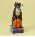 Enesco Jim Shore Halloween Scaredy Cat Figurine