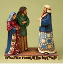 Enesco Jim Shore Mary & Joseph No Room at the Inn Figurine