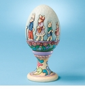 Jim Shore Decorative Egg on Stand