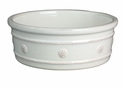 Juliska Berry and Thread Medium Pet Bowl Whitewash