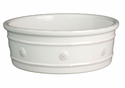Juliska Berry and Thread Large Pet Bowl Whitewash
