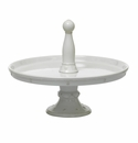 Juliska Berry and Thread Pastry Stand Whitewash