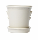 Juliska Berry and Thread Petite Pot/Under Tray Set Whitewash