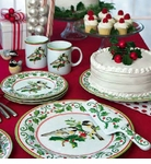 Andrea by Sadek Holiday Dinnerware