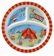Merritt Circus Friends Children's 3 Part Plate