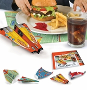 Fred & Friends Child's Foldable Paper Airplane Placemats (50)