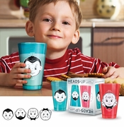 Fred & Friends Child's Heads Up Juice Glasses (2)
