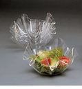"Arthur Court Designs Acrylic Bowls 7"" Clear (Set of 4)"