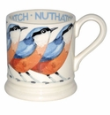 Emma Bridgewater Nuthatch Bird 1/2 Pint Mug