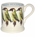 Emma Bridgewater Green Woodpecker 1/2 Pint Mug