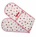 Emma Bridgewater Hearts Double Oven Glove