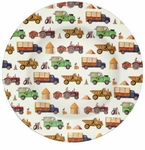Emma Bridgewater Men At Work Melamine Picnic Dinner Plate