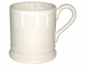 Emma Bridgewater White Toast 1/2 Pint Mug
