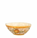 "Vietri Affresco Cereal Bowl 6.75""D, 2.5""H"