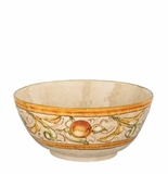 "Vietri Affresco Deep Serving Bowl 10.5""D, 4.5"" H"