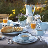 Vietri Bellezza Sky Blue Dinnerware