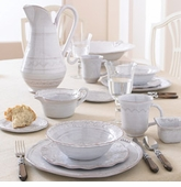 Vietri Bellezza White Dinnerware