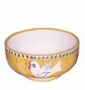 "Vietri Campagna Uccello Bird 5"" D Cereal/Soup Bowl"