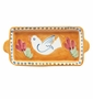 Vietri Uccello (Bird) Small Rectangular Plate