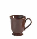 "Vietri Cioccolata Footed Mug 4.25"" H 12 oz"