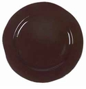 "Vietri Cioccolata Oversized Dinner Plate 12"" D"