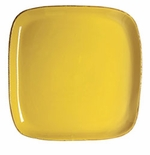 Vietri Fantasia Yellow Square Platter