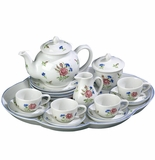 "Andrea by Sadek 11.5"" L Colonial Williamsburg Child Tea Party Tea Set"