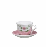 Andrea by Sadek Eloise Child's Cup & Saucer Sets (4)