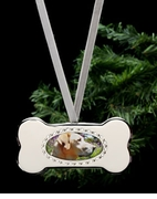 Arthur Court Designs Dog Frame Ornament