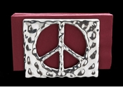 Arthur Court Designs Peace Napkin Holder