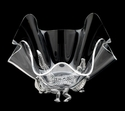 "Arthur Court Designs Alligator Stand with 11"" Acrylic Bowl"