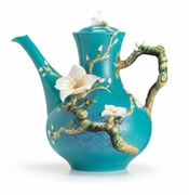 Franz Porcelain Collection Van Gogh Almond Flower Teapot