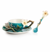 Franz Porcelain Collection Van Gogh Almond Flower Spoon