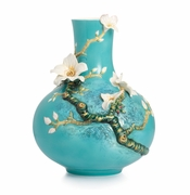 Franz Porcelain Collection Van Gogh Almond Flowers Vase