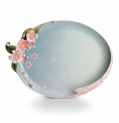 Franz Kathy Ireland Cherry Blossom Collection Platter