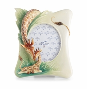 Franz Porcelain Collection Endless Beauty Giraffe Photo Frame
