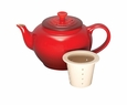 Le Creuset 22 oz Small Teapot with Infuser - Cherry Red