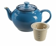 Le Creuset Small Teapot with Infuser - Marseille Blue