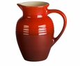 Le Creuset 2.25 Quart Pitcher - Red