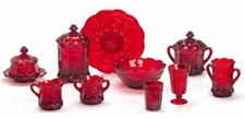 Mosser Glass Red Glassware