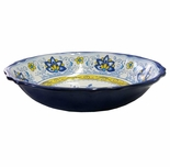Le Cadeaux Melamine Amalfi Large Salad Serving Bowl 12""