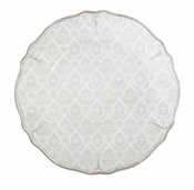 Le Cadeaux Melamine Louis Antique White Dinner Plate 11""