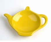 Classic Solid Color Tea Bag Holder Caddies - Yellow (6)