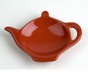Classic Solid Color Tea Bag Holder Caddies - Red (6)