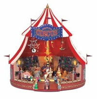 Mr. Christmas Gold Label World's Fair Big Top Animated Musical Display