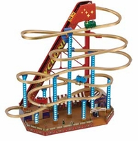 Mr Christmas Gold Label World's Fair Grand Roller Coaster